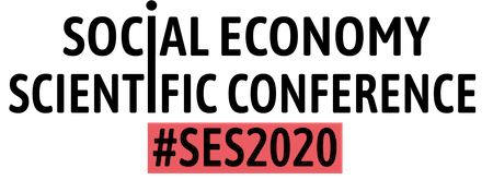 Social Economy Scientific Conference #SES2020 Logo
